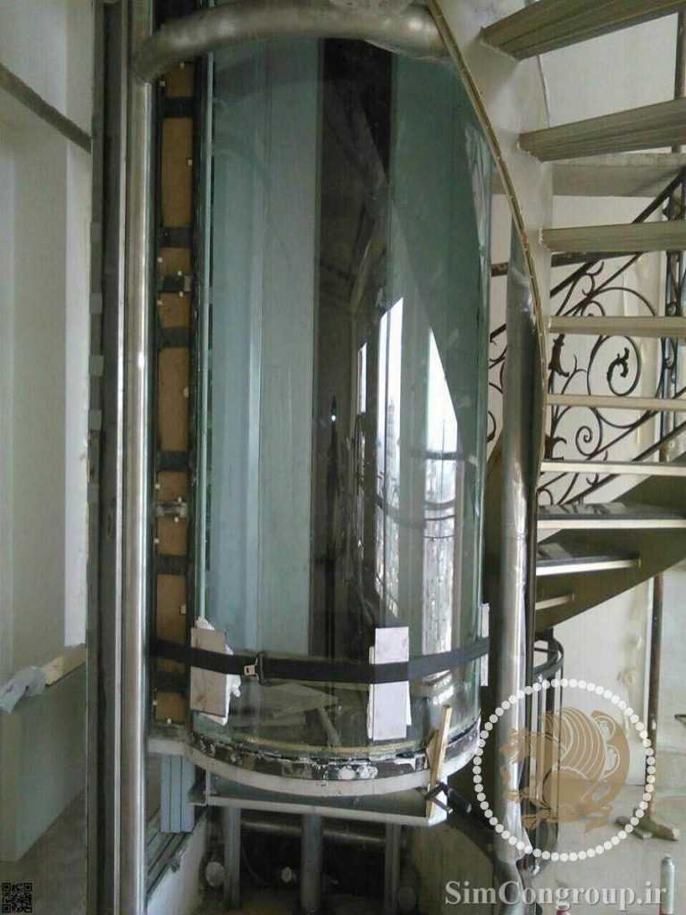 ساخت کابین آسانسور داخلی