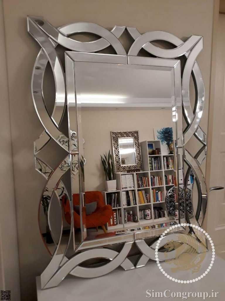 آینه دکوراتیو شیشه ای