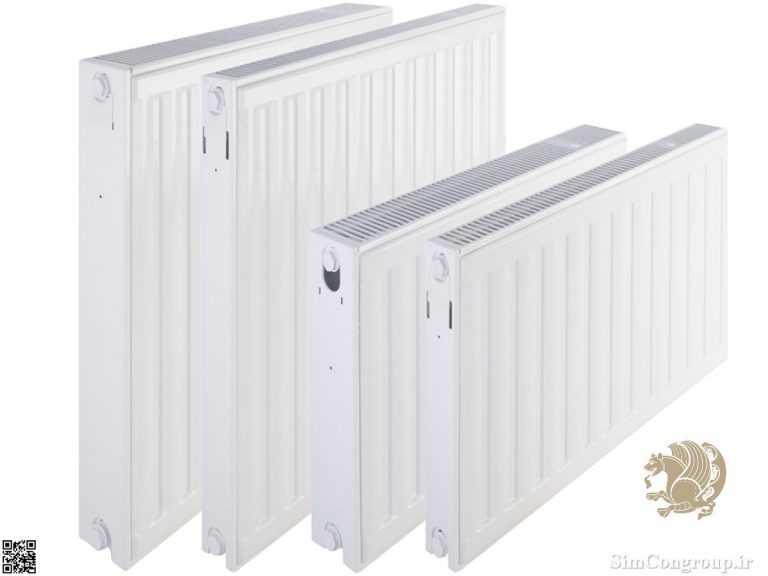 طول مختلف رادیاتور پنلی