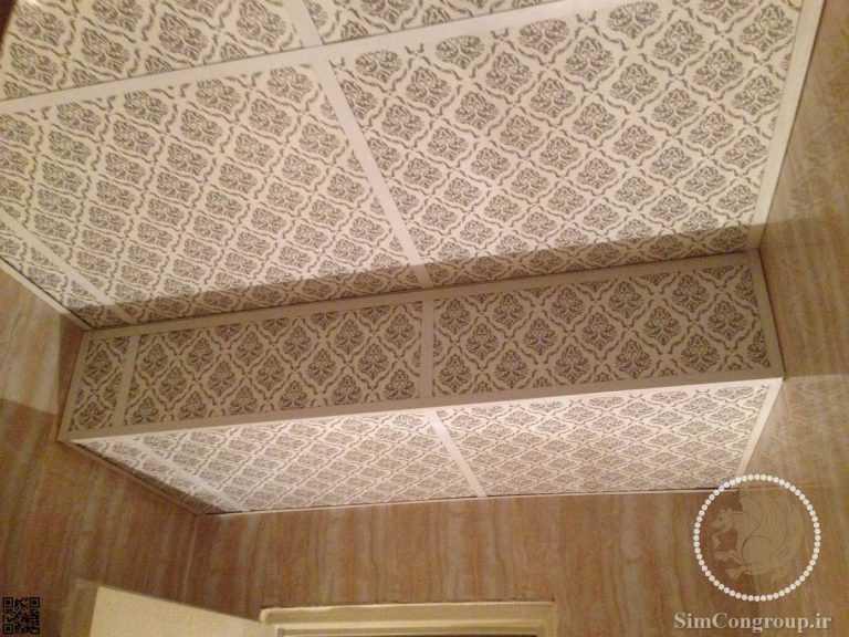 اجرا پله ای سقف کاذب دستشویی