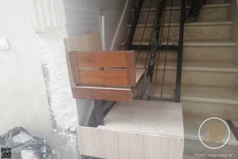آسانسور هیدرولیکی و بالابر خانگی