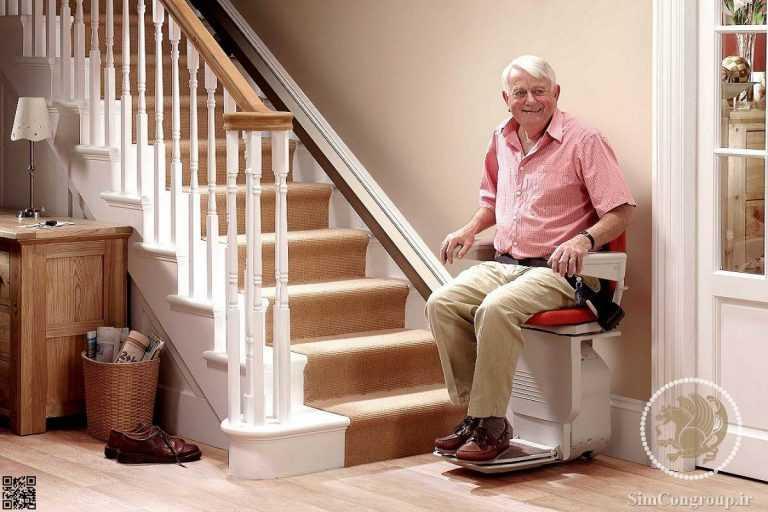 بالابر خانگی سالمندان