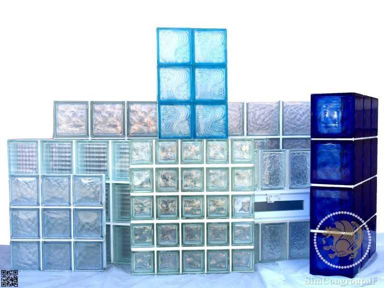 ساخت دیوار با بلوک شیشه ای