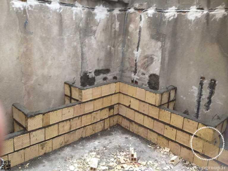 ساخت اصولی دیوار با سفال