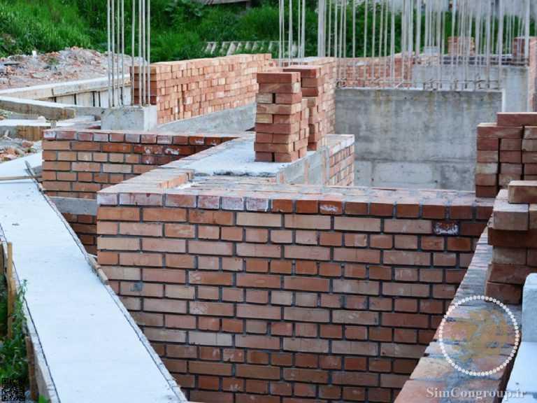 ساخت دیوار خارجی ساختمان