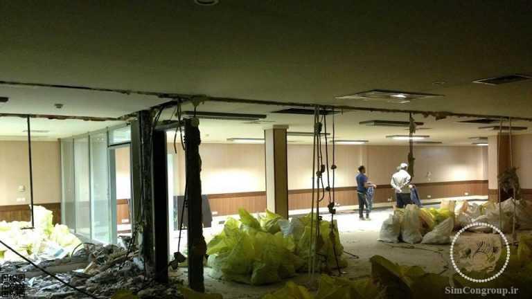 خدمات ساختمانی تخریب و کف سازی