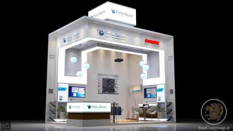 خدمات ساختمانی غرفه نمایشگاهی