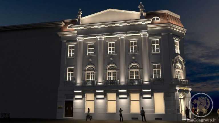 خدمات ساختمانی نمای ساختمان
