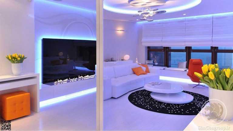خدمات ساختمانی نورپردازی داخلی