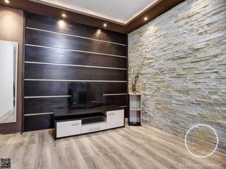 سنگ آنتیک برای دیوار منزل