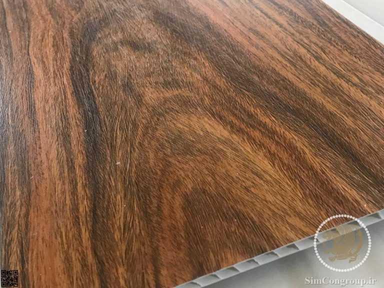 دیوارپوش پی وی سی طرح چوبی