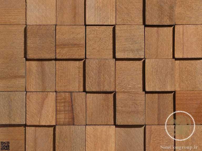 دیوارپوش چوبی برجسته