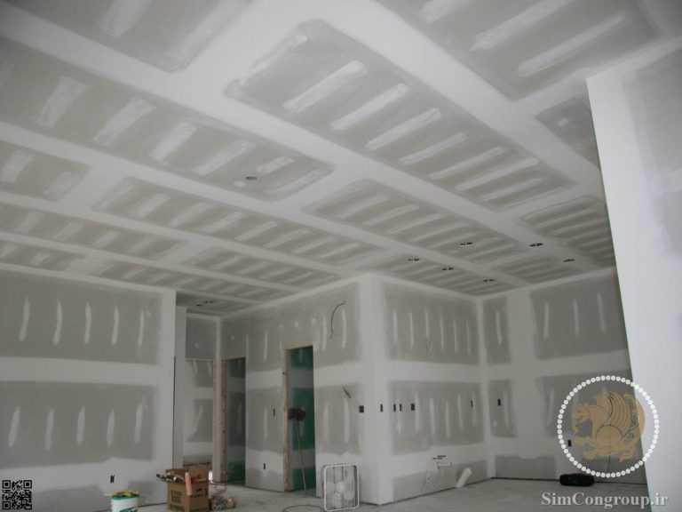 سقف فلت کناف و دیوار کناف