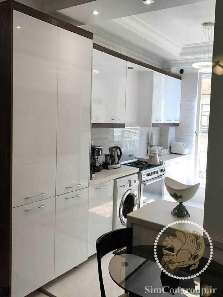 ساخت کابینت آشپزخانه های گلاس ام دی اف