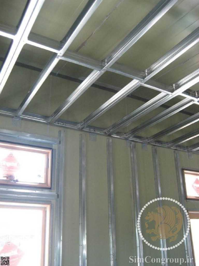 سازه سقف کناف و دیوار کناف
