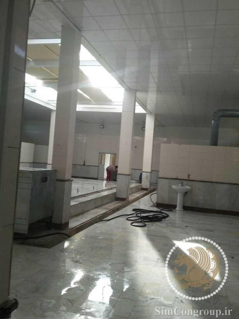 سقف پی وی سی در متراژ بزرگ