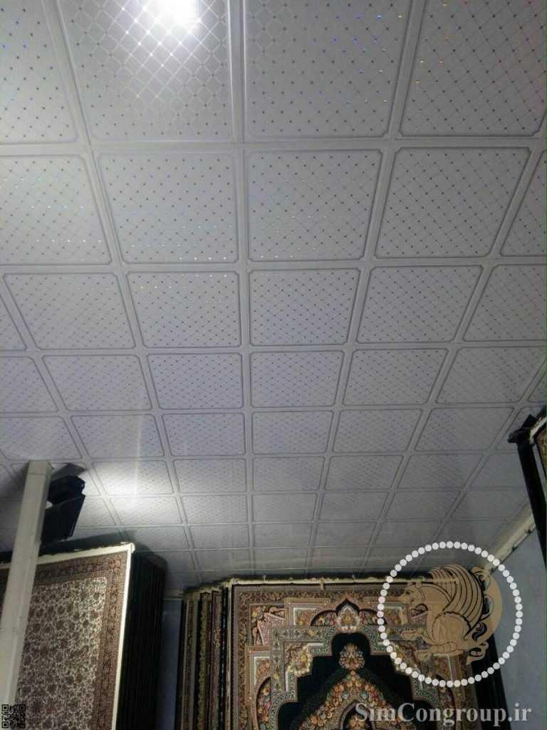 سقف کاذب pvc مغازه