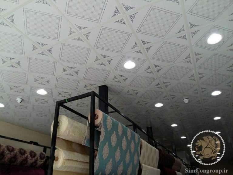 سقف کاذب pvc فروشگاه