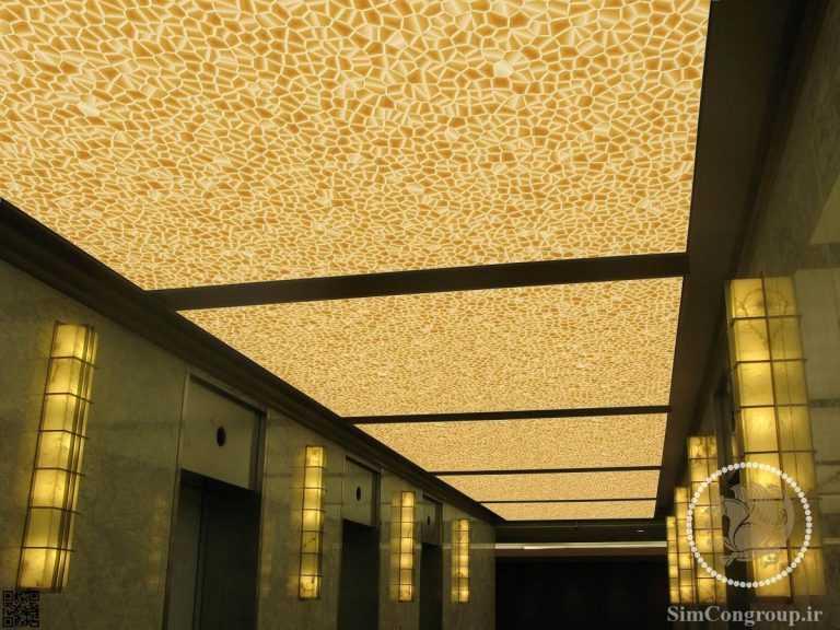 سقف کاذب pvc لابی