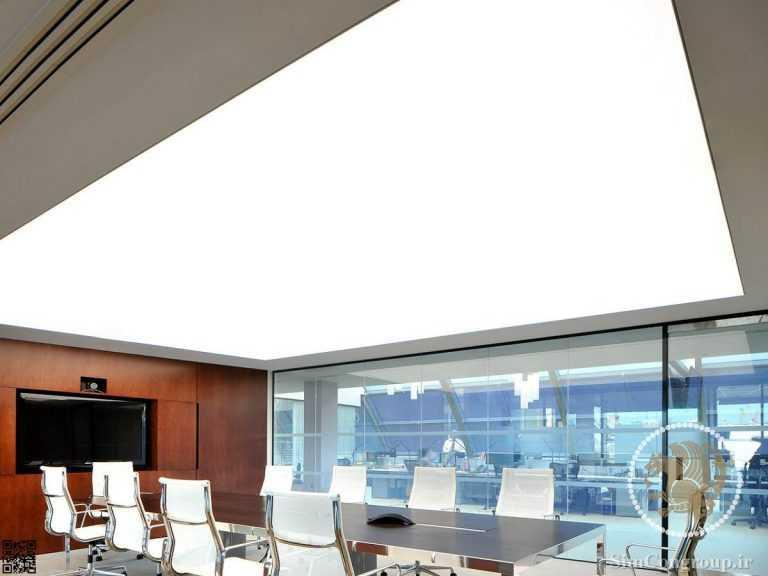 سقف کشسان سفید