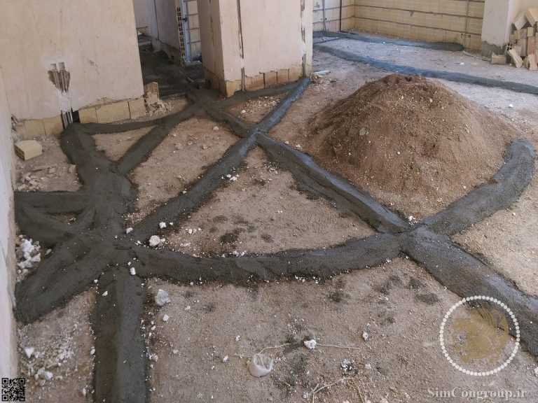 حفاظت از لوله برق در کف