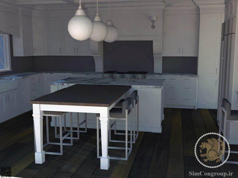طراحی آشپزخانه ممبران