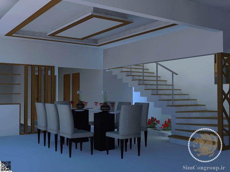 طراحی هال خانه مدرن