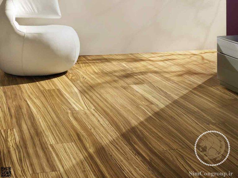 لمینت طرح چوب طبیعی روشن