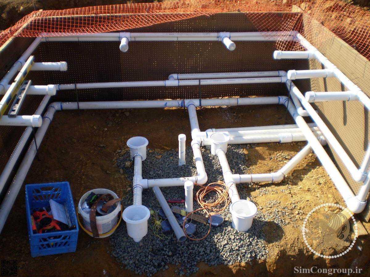 ساخت استخر سرپوشیده جکوزی خانگی سونا خشک سونا بخار