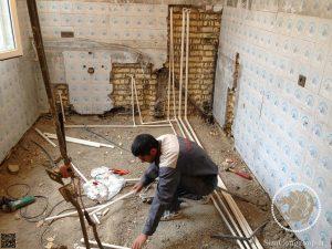 لوله کشی آب و شوفاژ ساختمان