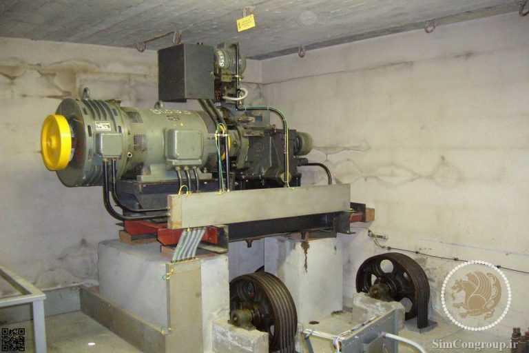 موتور آسانسور ساختمان