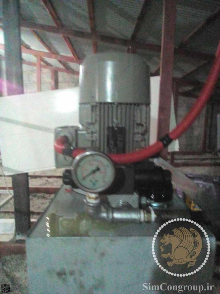 موتور خشک آسانسور داخلی منزل