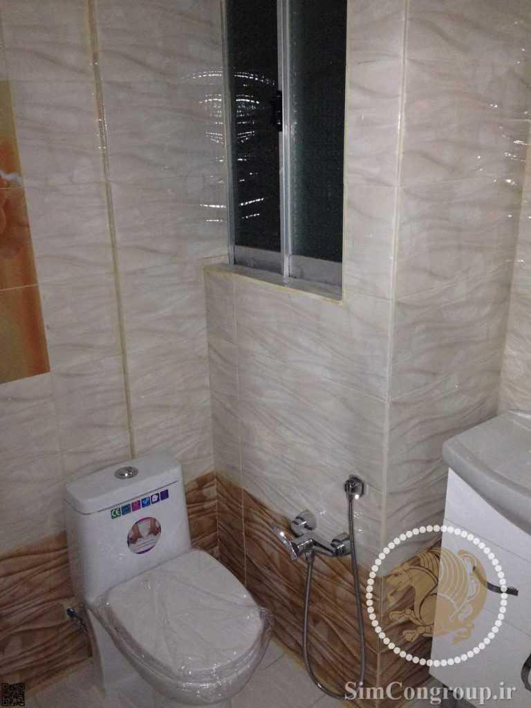 نصب سنگ توالت فرنگی