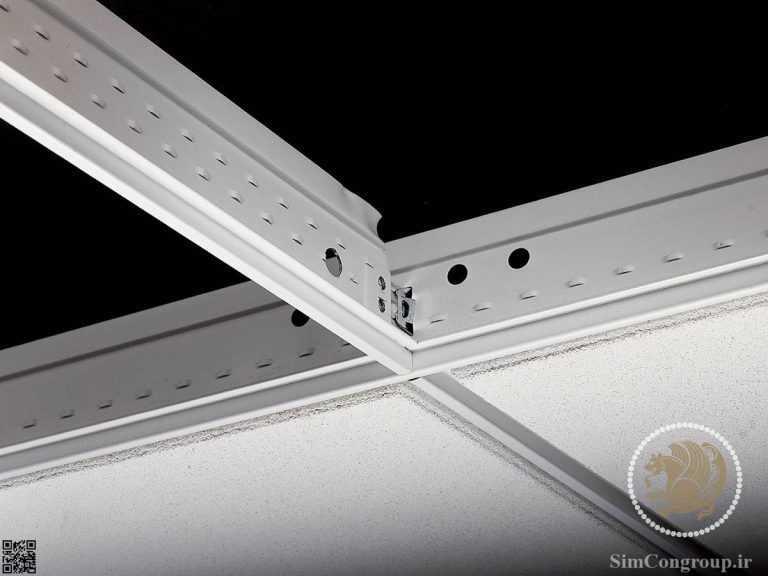 سیستم سازه سقف کاذب پی وی سی