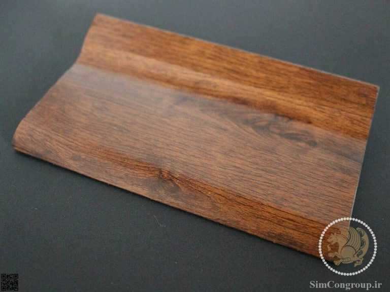قرنیز پی وی سی طرح چوب