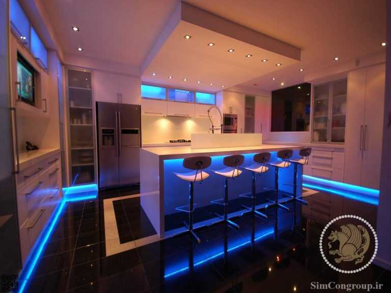 نورپردازی خانه لاکچری