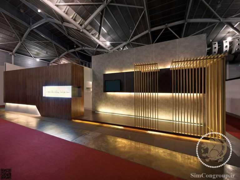 نورپردازی غرفه نمایشگاهی