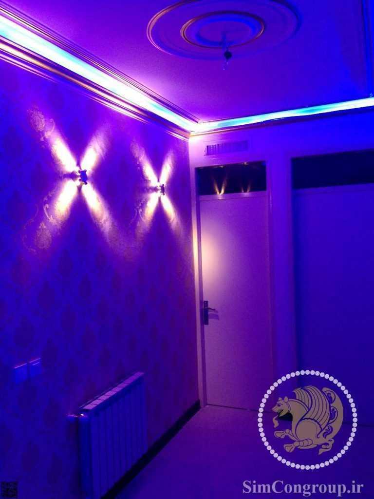 نورپردازی داخلی منزل مسکونی