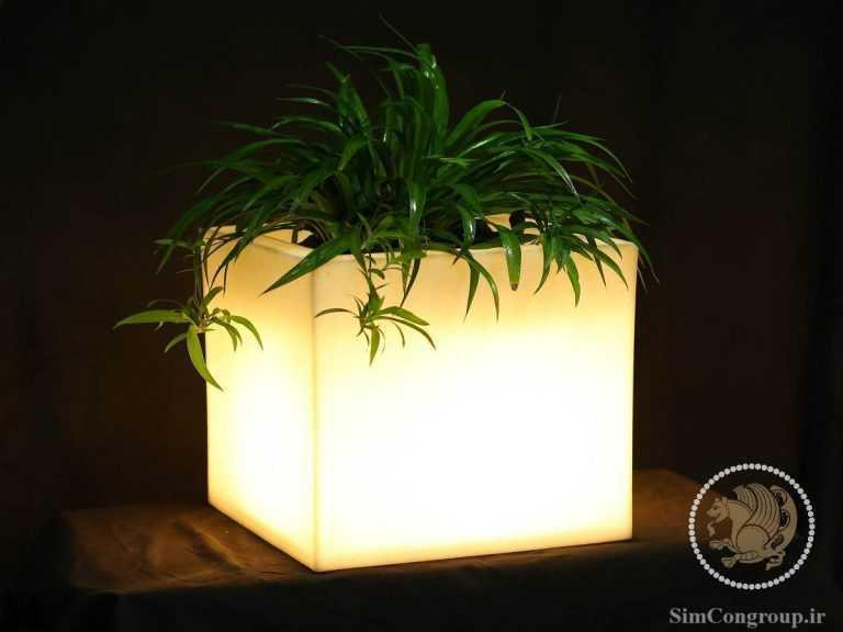 گلدان نوردار