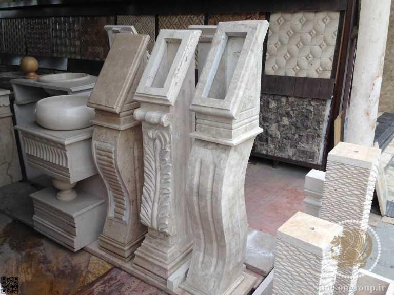 پایه آیفون ورودی لابی ساختمان