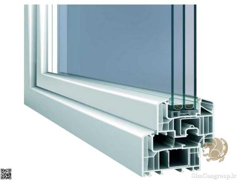 پروفیل استاندارد پنجره دوجداره