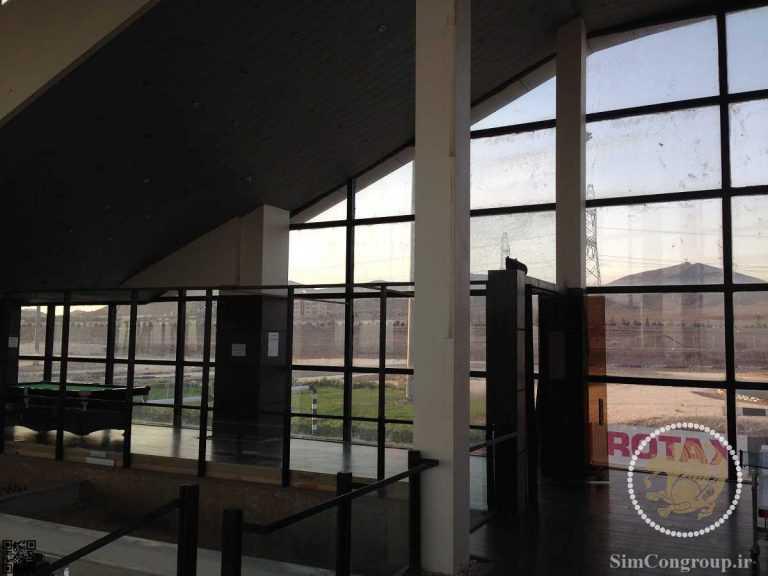پنجره دوجداره نما کرتین وال