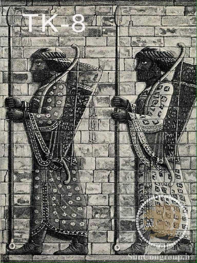پوستر کاغذ دیواری سرباز هخامنشی