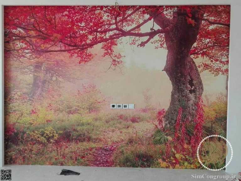 پوستر سه بعدی منزل پاییز