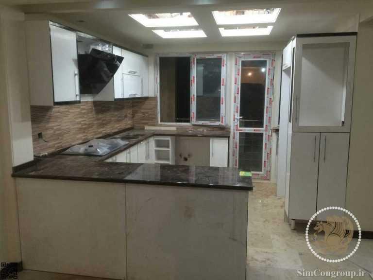 ساخت کابینت آشپزخانه کوچک