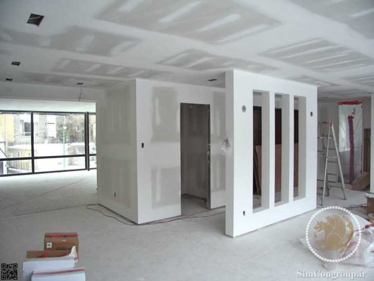 کناف سقف منزل