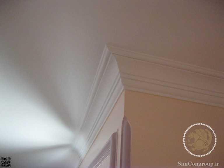 ابزار گلویی گچبری سقف بدون نور مخفی