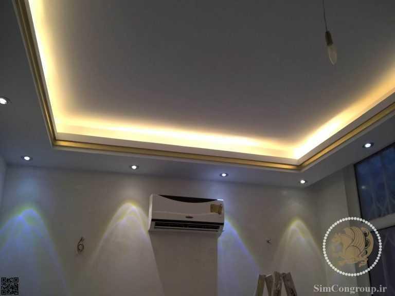 گچبری نور مخفی ساختمان
