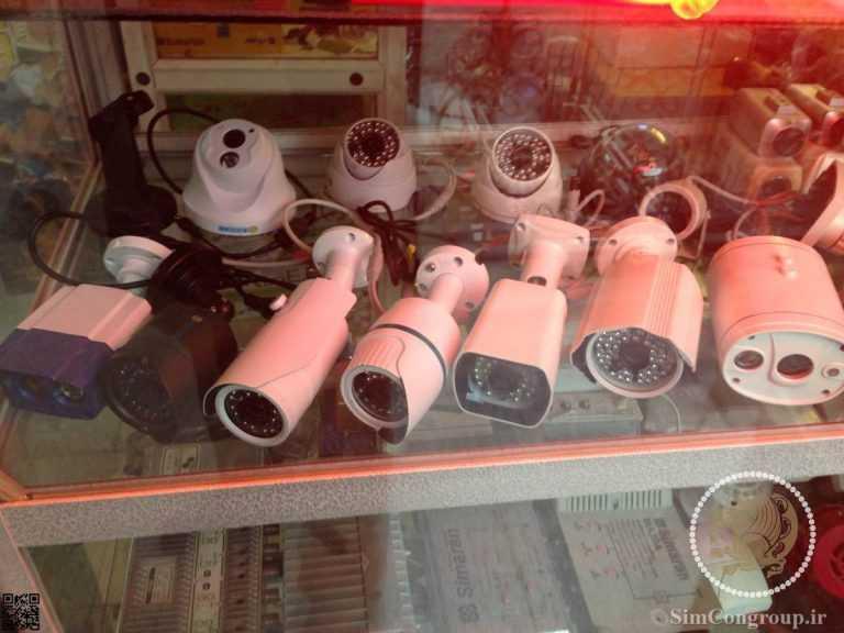 انواع دوربین های مدار بسته