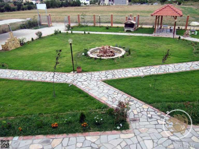 ساخت محوطه و فضای سبز